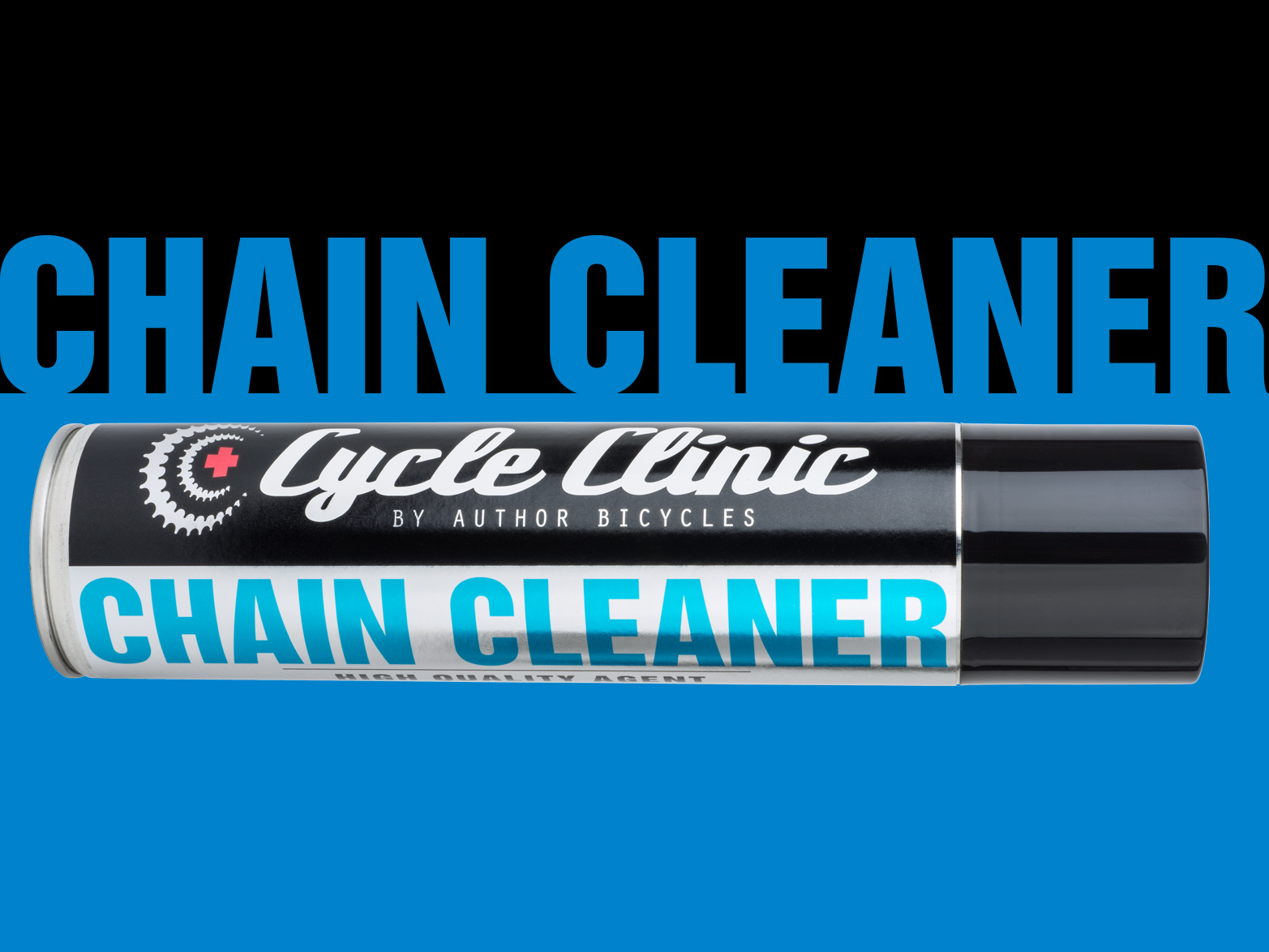 AUTHOR Čistič Cycle Clinic Chain Cleaner aerosol 400 ml  (černá)