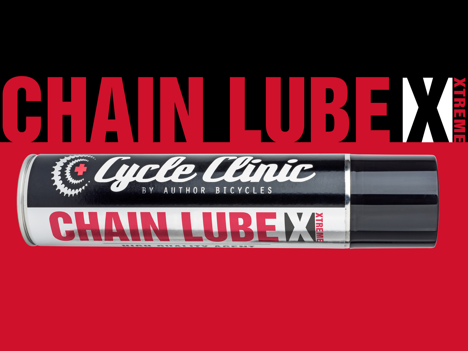 AUTHOR Mazivo Cycle Clinic Chain Lube EXTREME 300 ml  (červená)